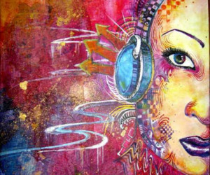 Hearing-touch synesthesia